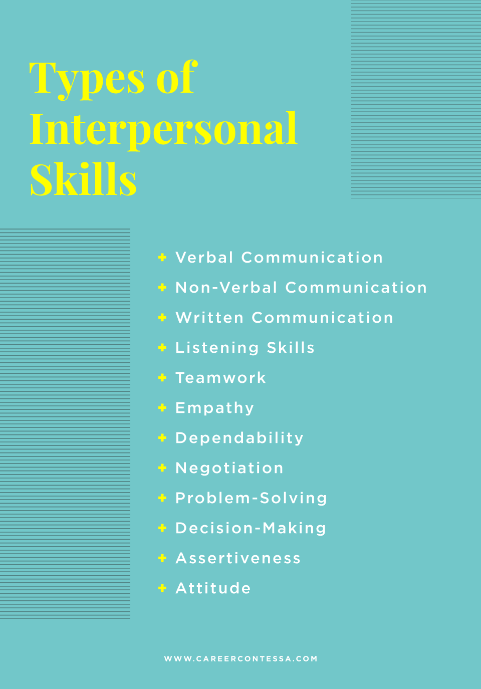 The Interpersonal Skills You Need At Work How To Grow Them Today Career Contessa Interpersonal Skills Activities Interpersonal Skills Resume Skills