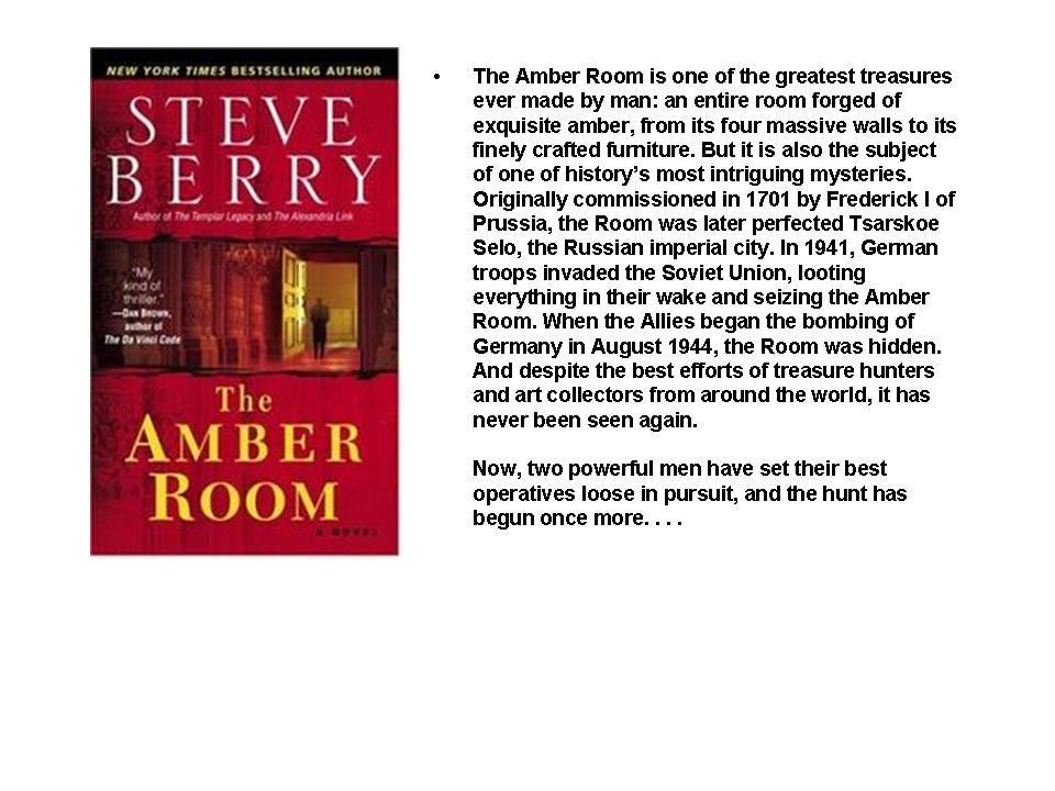 Nice The Amber Room