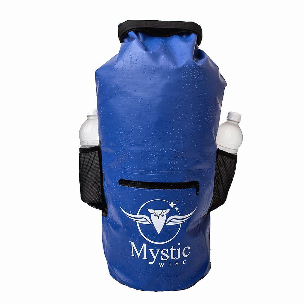 a1beb634a6 Amazon.com   Mystic Wise Waterproof Floating Backpack Dry Bag 20L - for  Kayaking