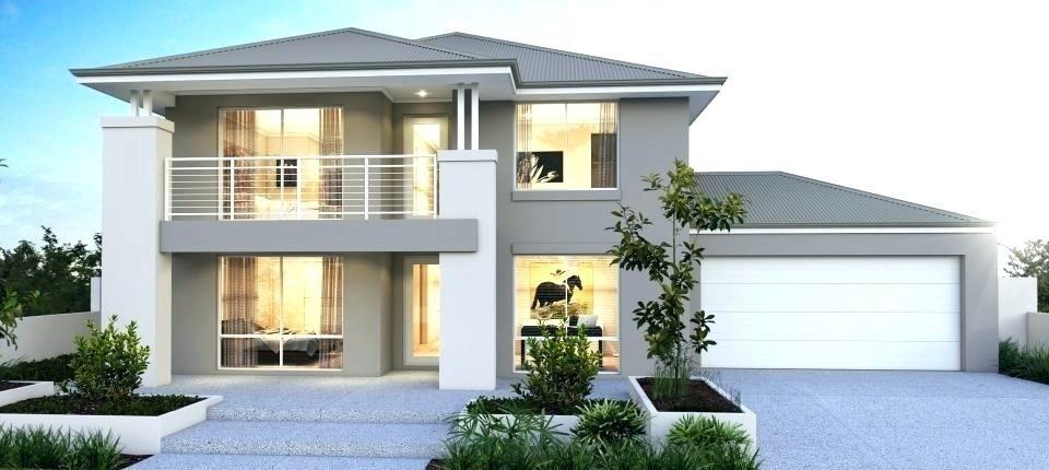 Image Result For Nice Modern 5 Bedroom House Plans Double Storey House Facade House Double Storey House Plans