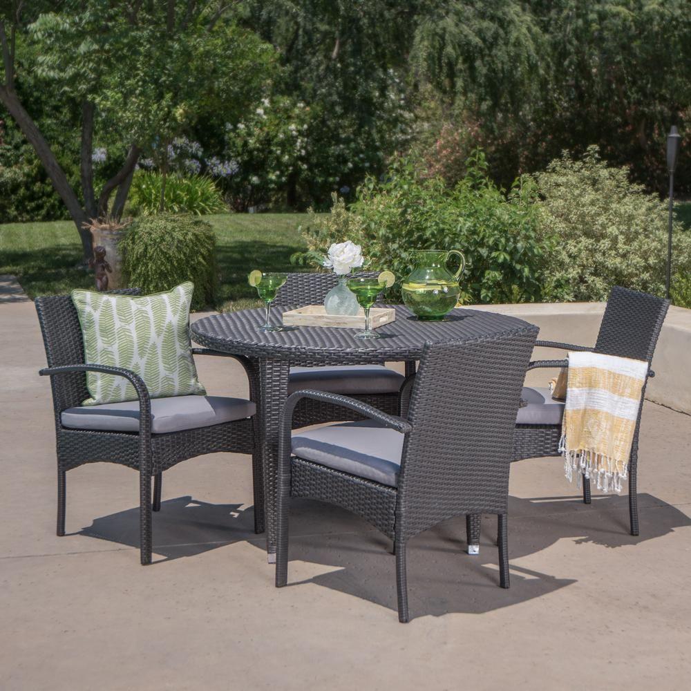 21+ Grey wicker outdoor dining set Best