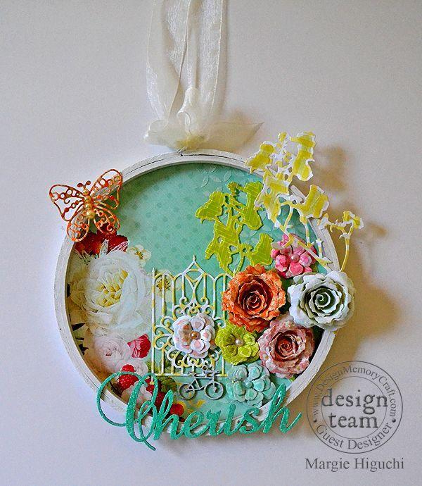 cherish diy embroidery hoop faber castell design memory