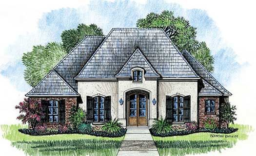 Floor Plans Of French Country Home Designs Dramatically Differ From Plan To Plan However T French Country House Plans Country House Plans French Country House