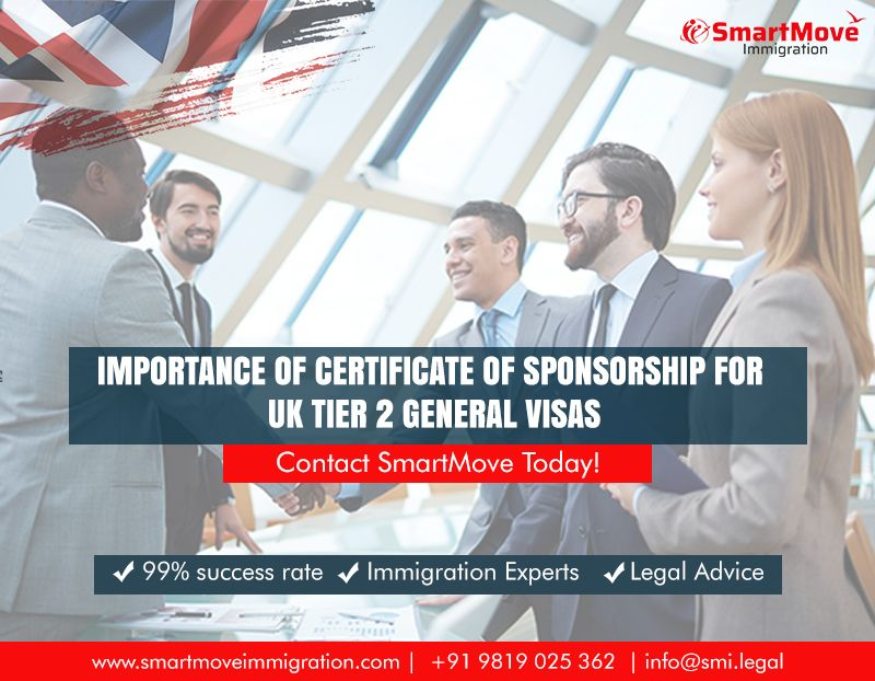 Importance of Certificate of Sponsorship for UK Tier 2
