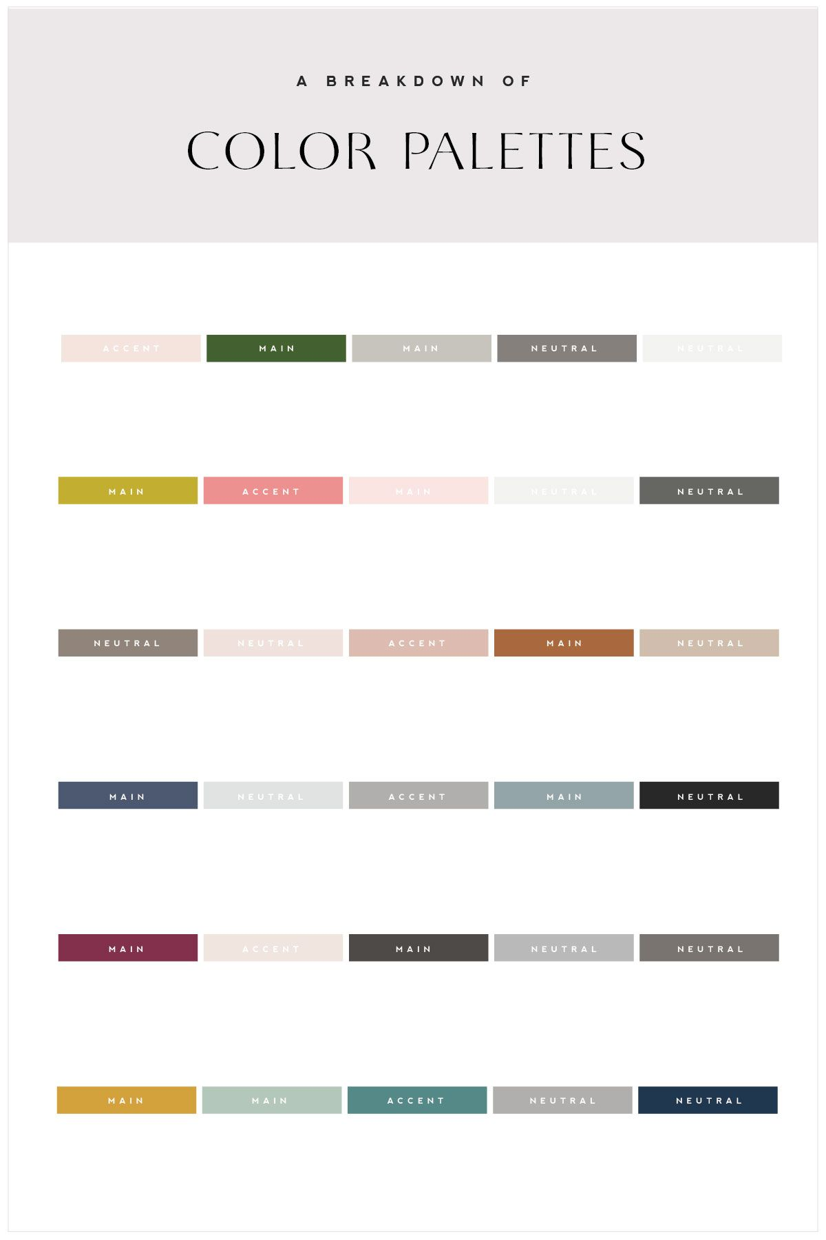 Create Your Brand Color Palette Using Color Theory Colours