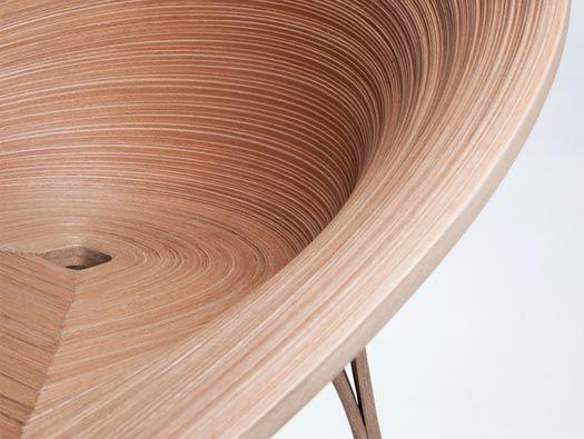 Tamashii Chair By Anna Stepankova With Japan S Bunaco Technique