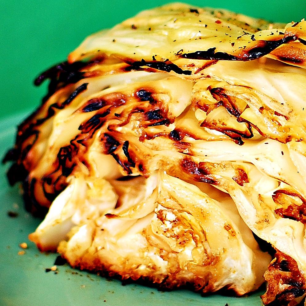 Summer Grilled Cabbage