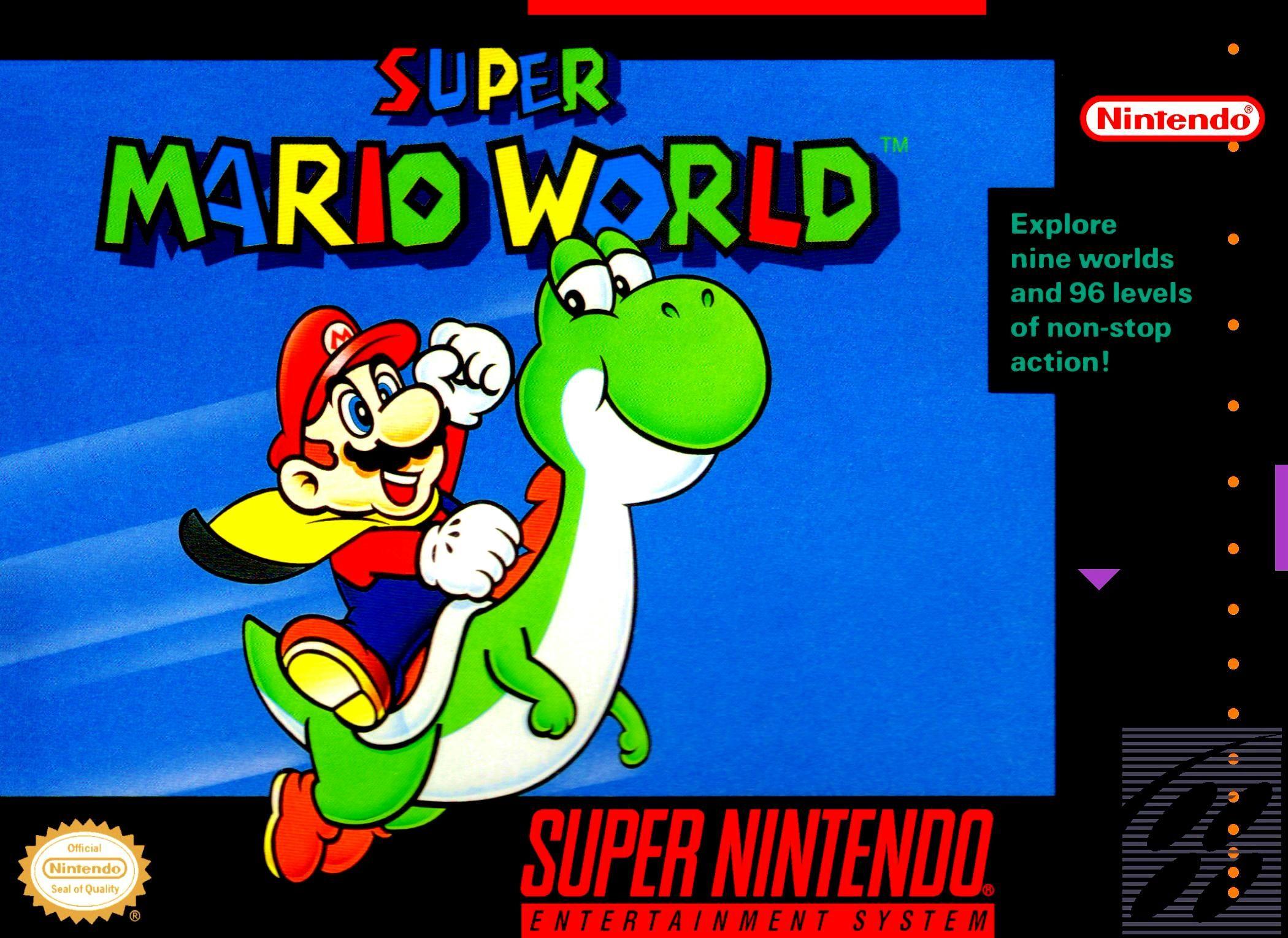 Super Mario World Super Mario Bros Super Mario World Super Nintendo