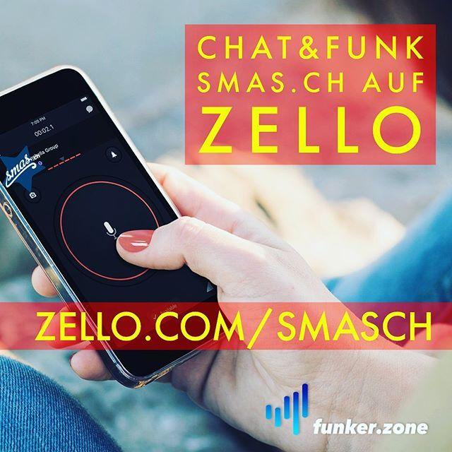 Zello ist eine APP zum Chatten und vorallem auch Funken