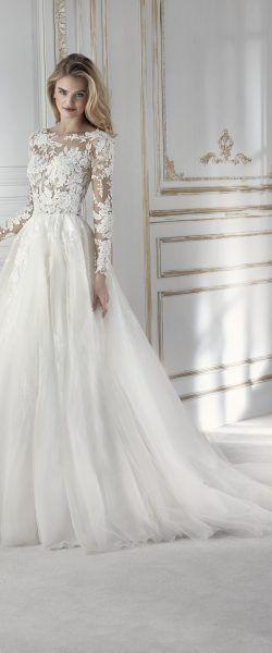 encontrado en Happy Brautmoden vestido de novia elegante, elegante vestido de novia, La Sposa …