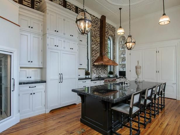 Take a peek inside this historic kitchen featured on HGTV.com.