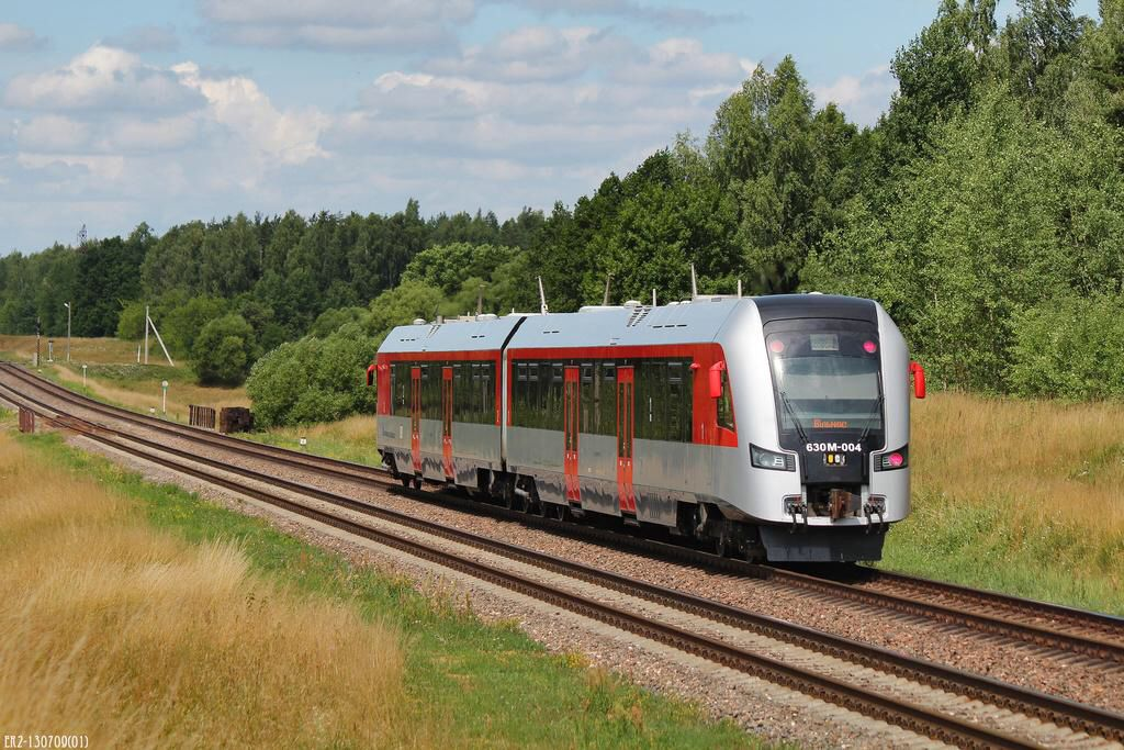 Local train Minsk-Vilnius