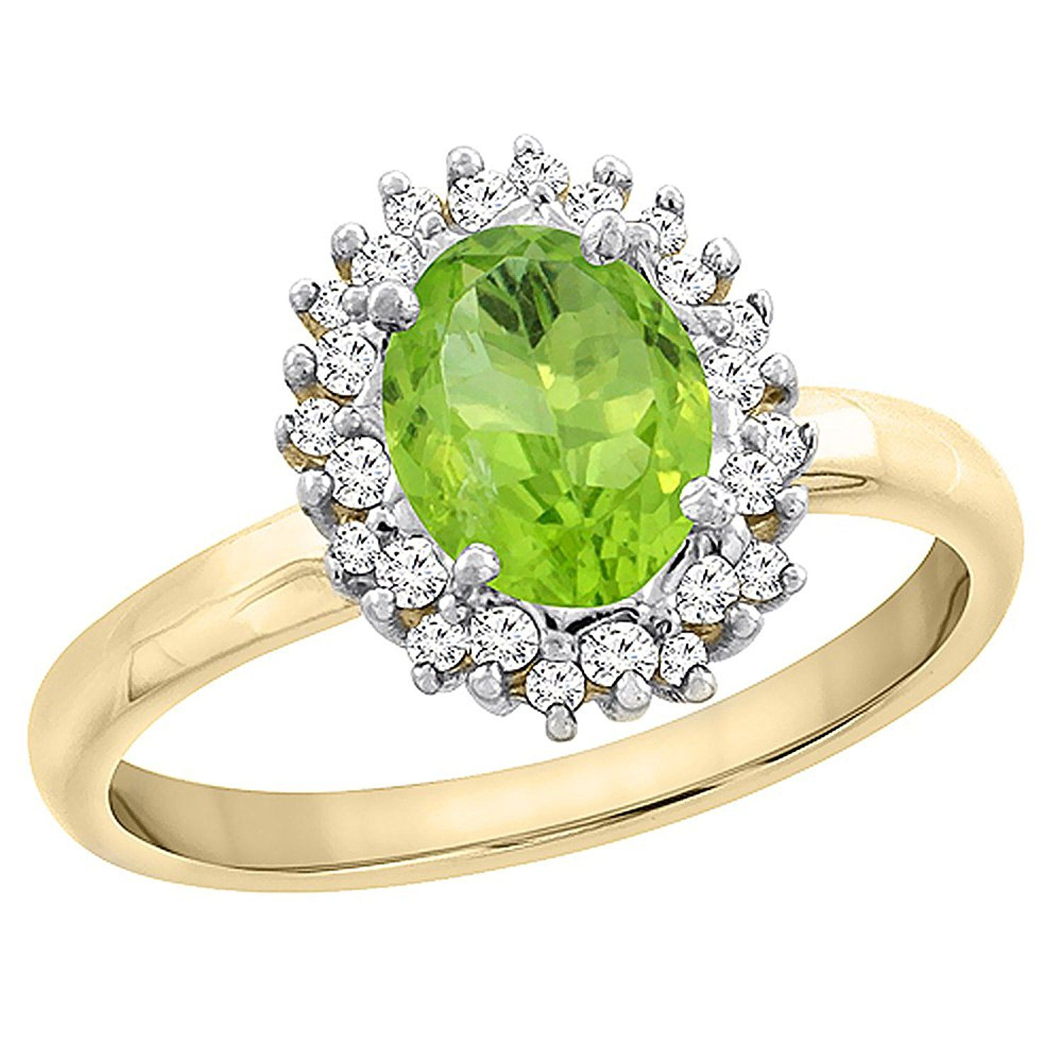 gold setting diamond ring products rectangular shop yellow engagement rings peridot stepped