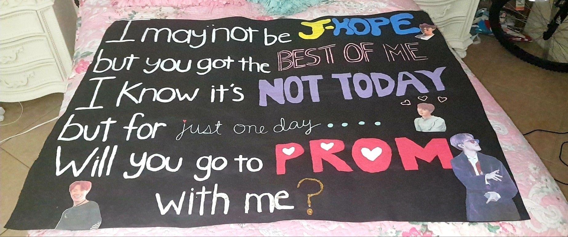 Bts Inspired Promposal Homecoming Proposal Cute Prom Proposals Prom Proposal