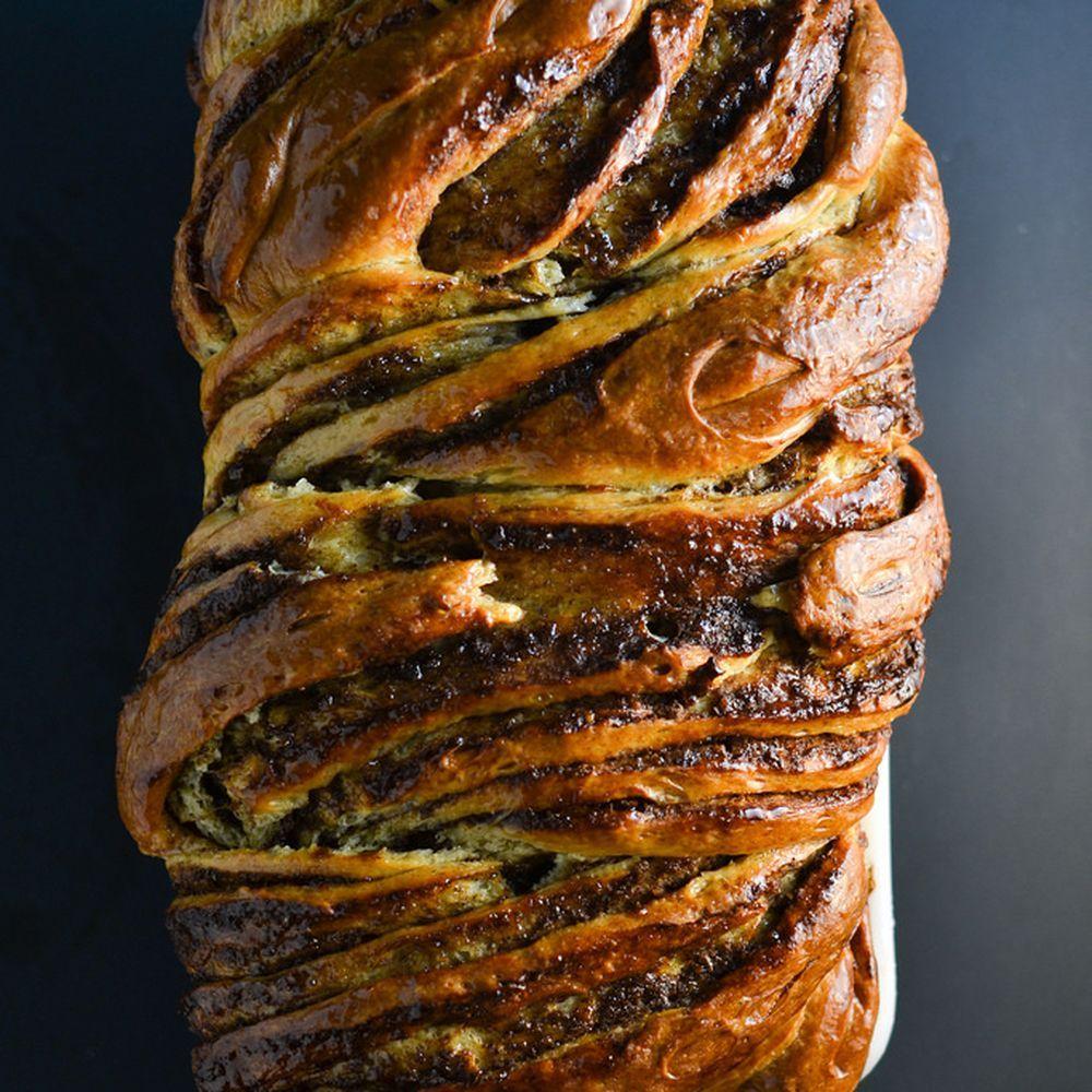 Braided Cardamon Brioche Bread Recipe Brioche loaf