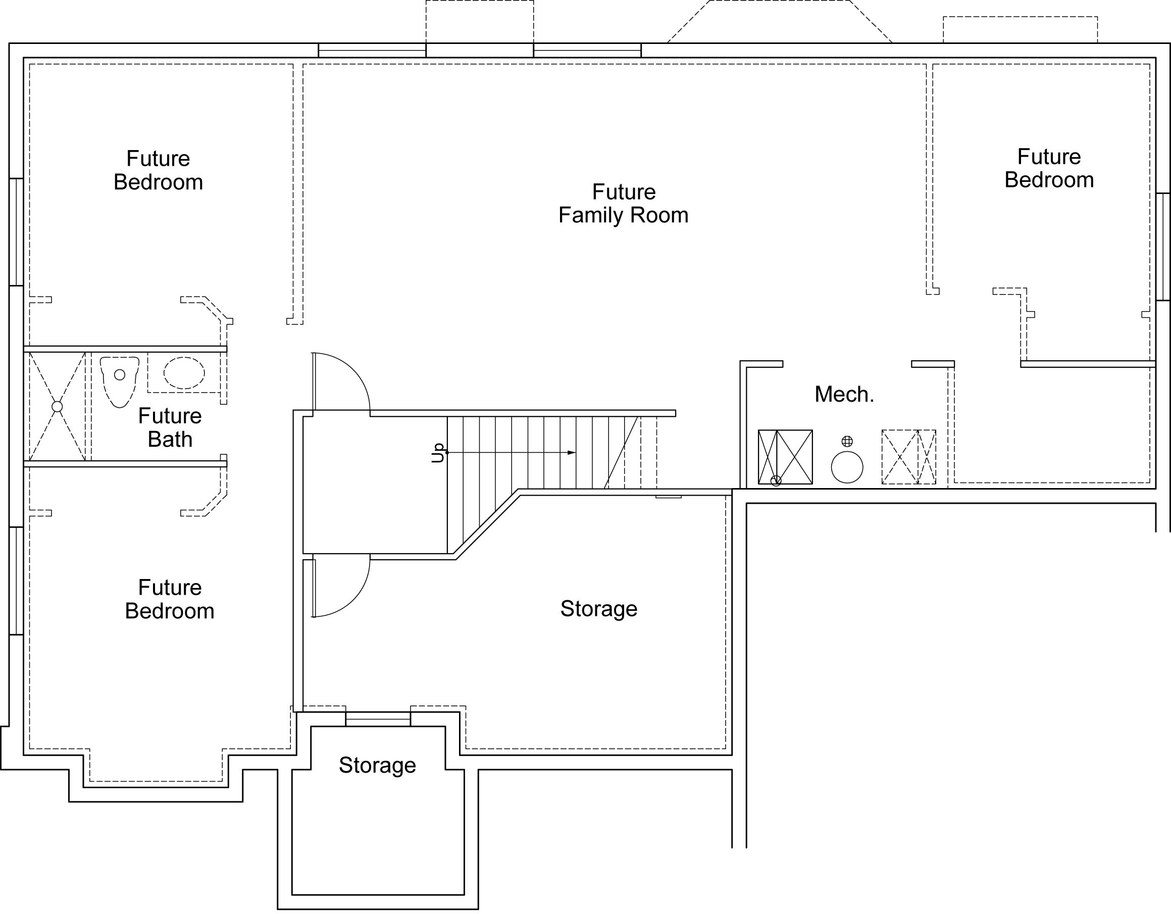 Hamilton Rustic Ivory Homes Floor Plan Basement Level – Ivory Homes Hamilton Floor Plan