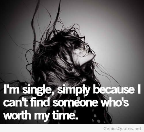 Im Single Girl Quote Ilikeitfunny Pinterest Quotes Single