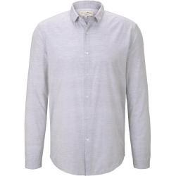 Photo of Tom Tailor Denim men's simple shirt, gray, plain, size xxl Tom TailorTom Tailor