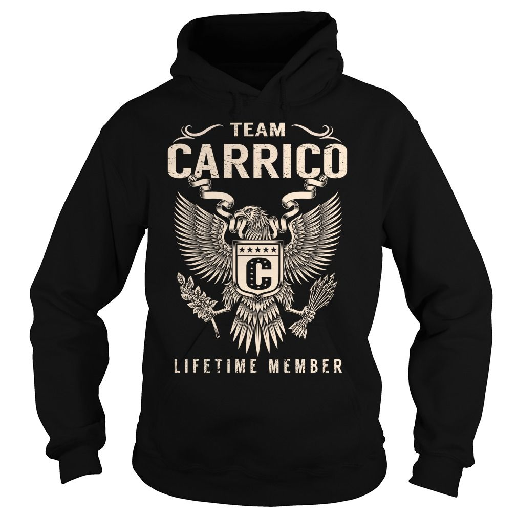 Team CARRICO Lifetime Member - Last Name, Surname T-Shirt