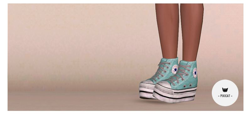 Converse Platforms Available for Female YA/A and Teens Package & Sim3pack  included. Download