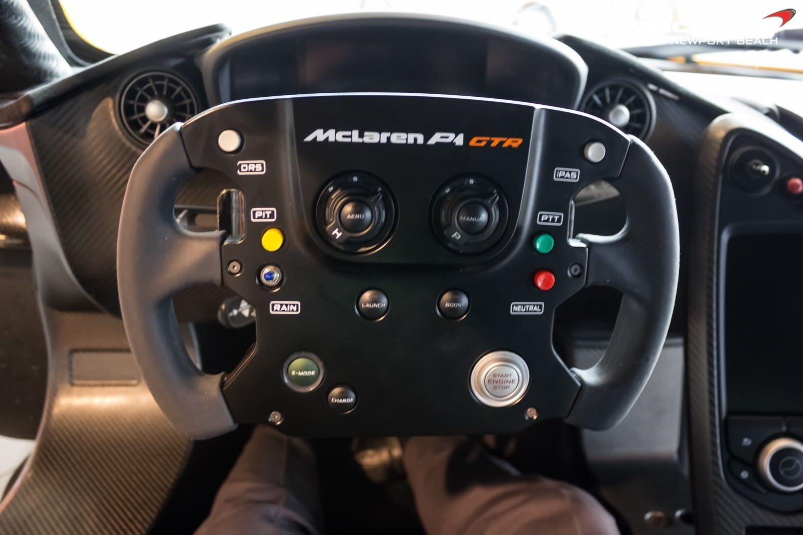Track Focused Mclaren P1 Gtr Steering Wheel Nb Showroom Sssupersports