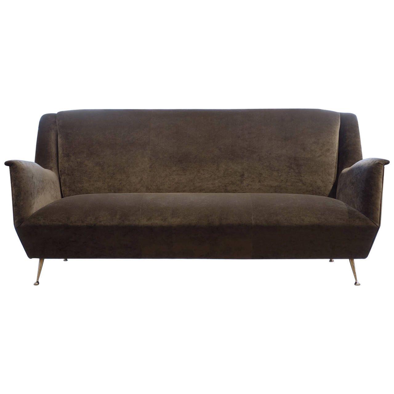 Italian Modern Three Seat Sofa | Sofa, Modern sofa, Modern