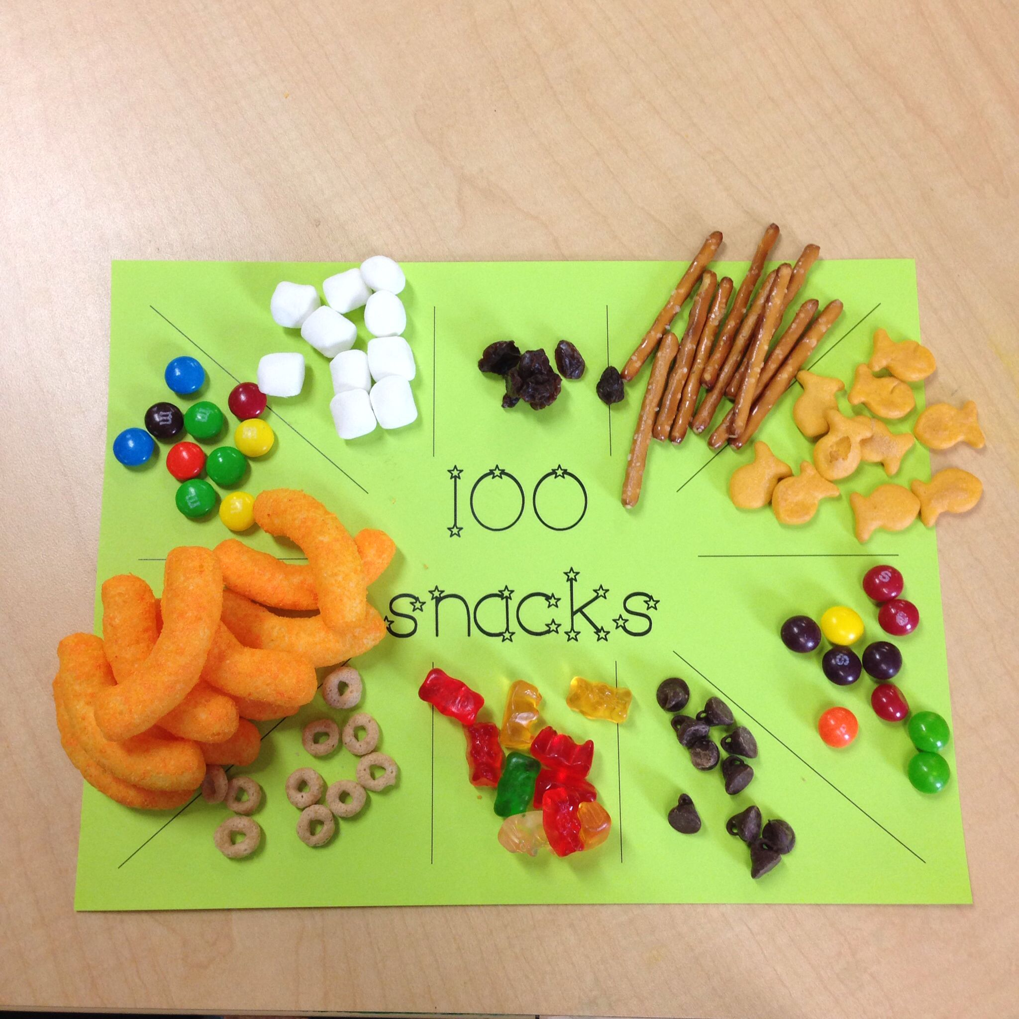 100th Day Of School Snack Idea Huge Success With My Prek
