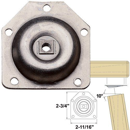Platte river 892680 hardware table assembly hardware 10 degree platte river hardware table assembly hardware 10 degree table leg mounting plate package of 4 watchthetrailerfo