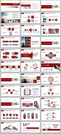 33+ Red Business Report PowerPoint templates Graphics - business reporting templates