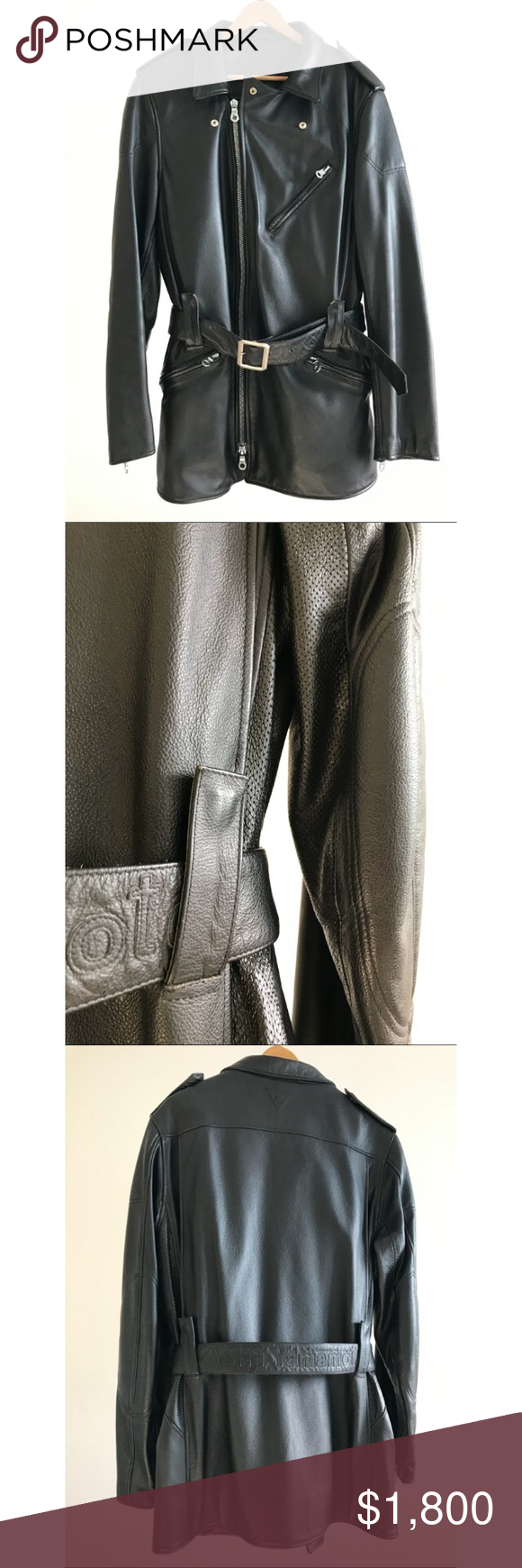 Yohji Yamamoto Leather Biker Jacket Rare Yohji X Diamese 2005 Fall Winter Size 48 Perfect Condition Yohji Yamamoto Leather Biker Jacket Biker Jacket Jackets [ 1740 x 580 Pixel ]