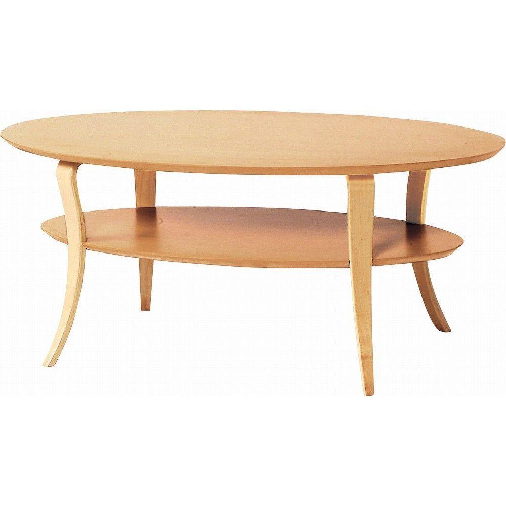 wooden oval shape open bottom shelf