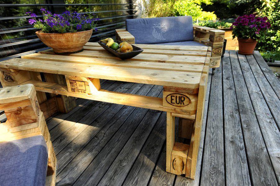 3 Der Tisch Pepi Mobel Aus Paletten Selber Bauen Paletten Paletten Tisch