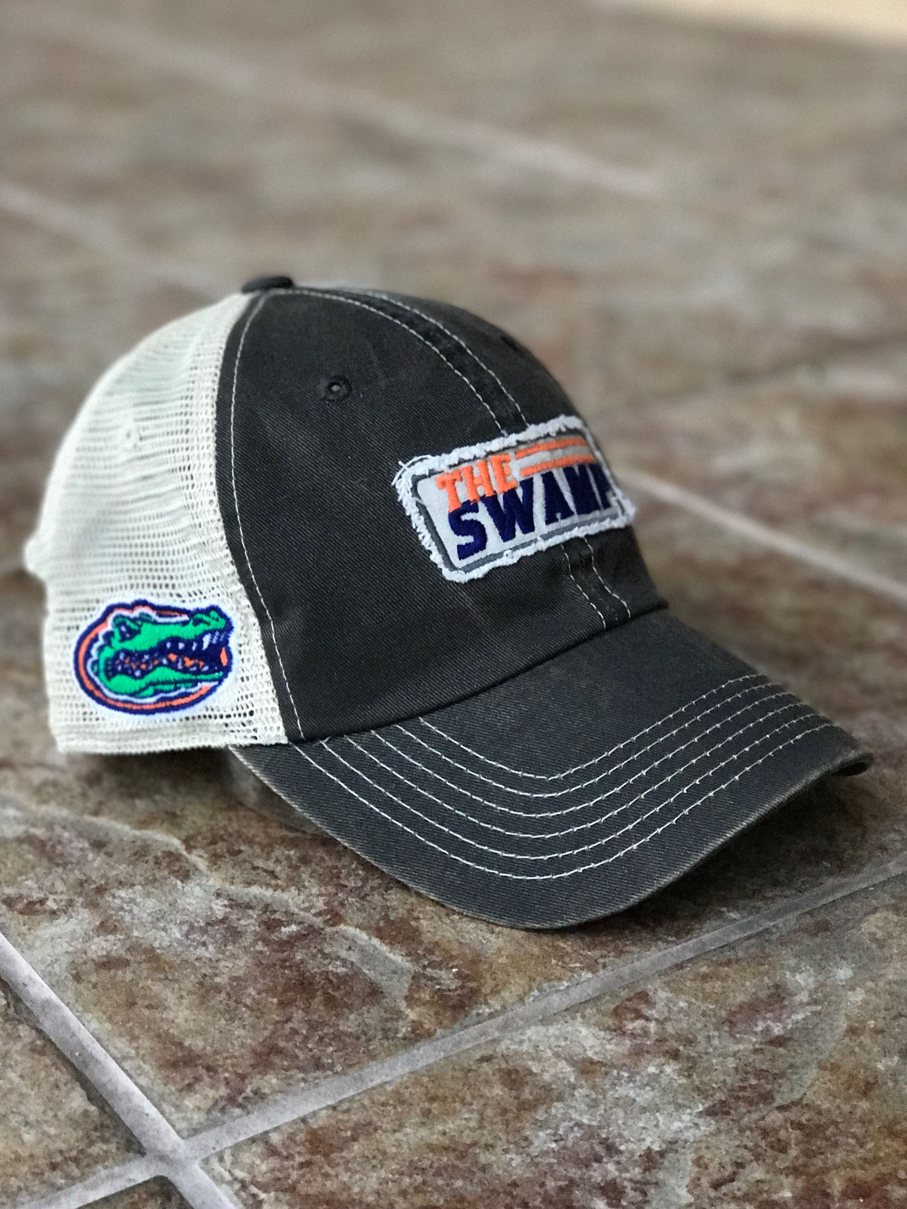 0e43caca0f4 Florida Gator - The Swamp trucker hat. New!! This is the  it  hat of the  season. Swoon!