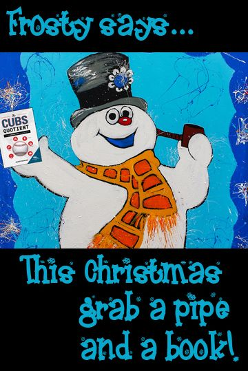 Frosty Says This Christmas Grab A Pipe And A Book Christmas