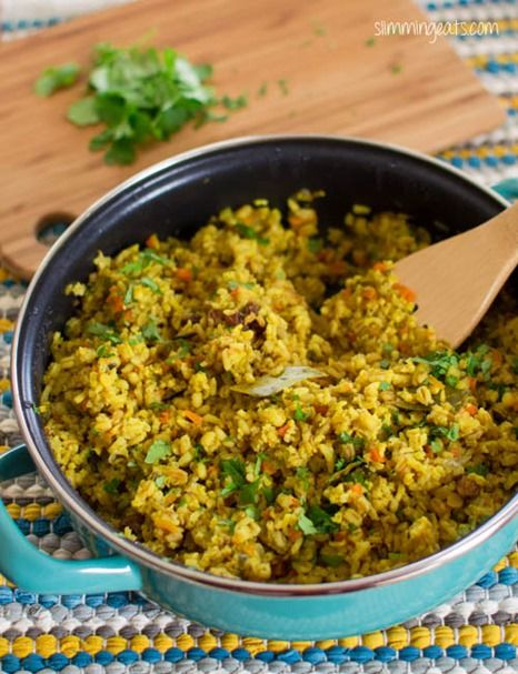 Mixed Grain Pilaf | Slimming Eats - Slimming World Recipes