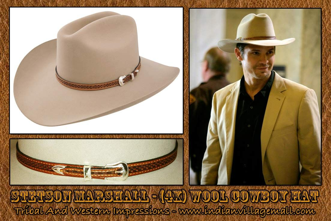 3e587639774fd Stetson -Marshall Givens (Timothy Olyphant) in the FX television series