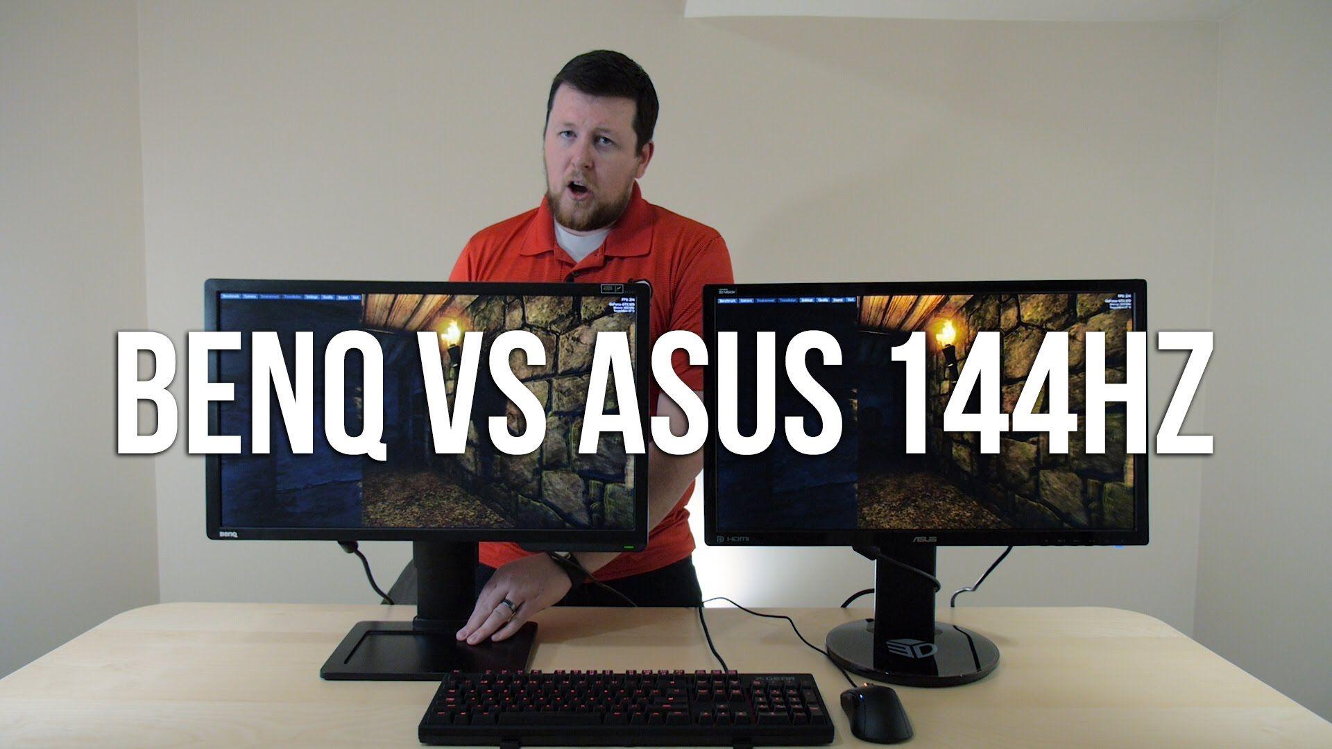 BenQ XL2411Z vs ASUS VG248QE 144 hz Monitor Comparison