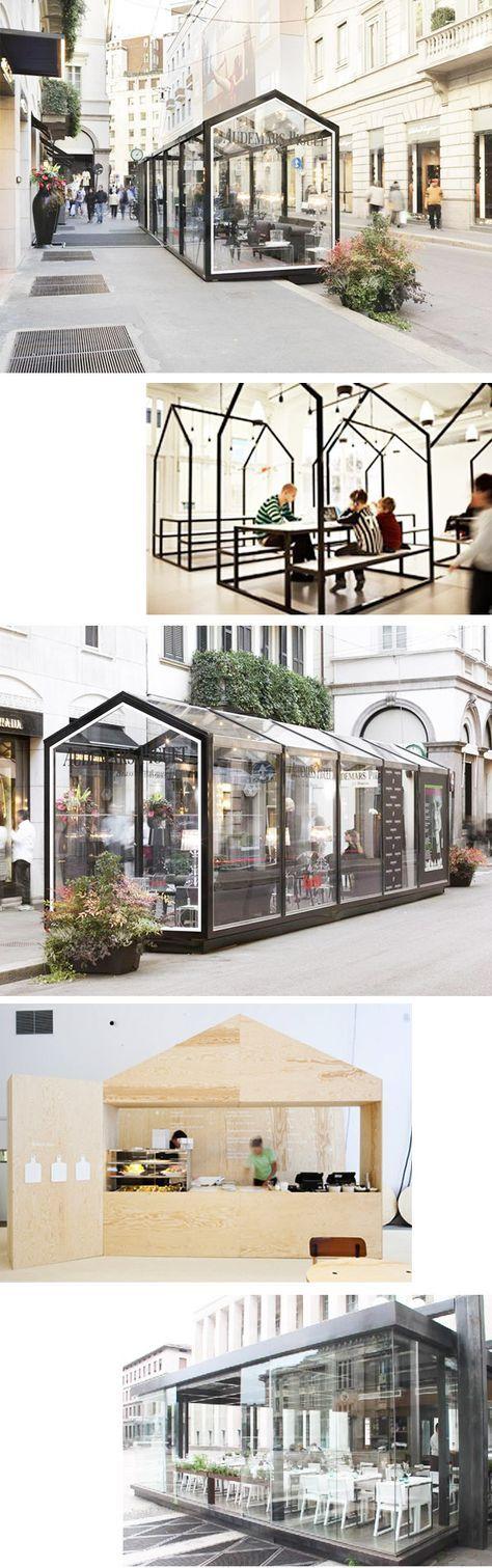 Modular restaurant by modus vivendi spain food kiosk pinterest architektur - Wintergarten ffb ...