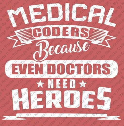 Medical Coders SVG By CraftsnThingsByNelly On Etsy