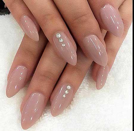 Nail Designs Diamonds Nails Pinterest Pink Nails Diamond Nail