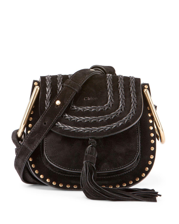 39cdfe9dad88 Chloe Hudson Mini Suede Shoulder Bag
