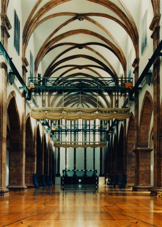 Kontrast Umnutzung Basilika St Maximin Trier 1995 Gottfried Bohm Und Alois Peitz Architekt Architektur Bauen Im Bestand