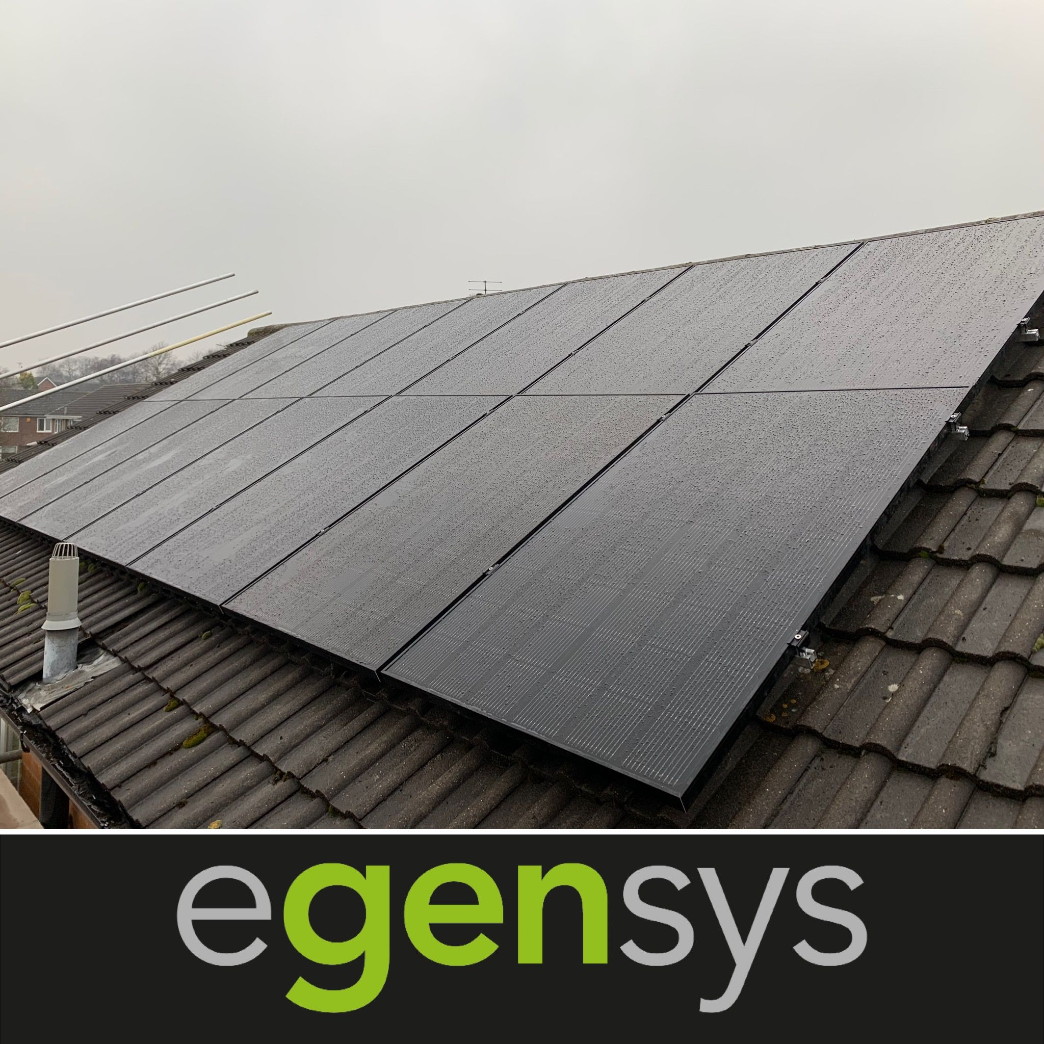 4 5 Kw Solar Pv System Using Lg Neon 320 Watt All Black Solar Modules Installed In Ravenshead Nottinghamshire The Lg Solar Pv Systems Solar Pv Solar Module