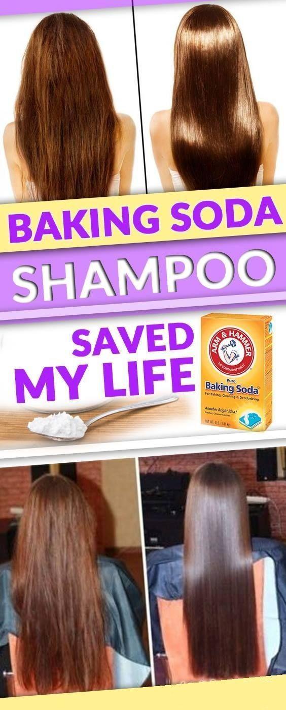 How To Make Homemade Baking Soda Shampoo With Images Hair Health Healthy Hair Grow Hair