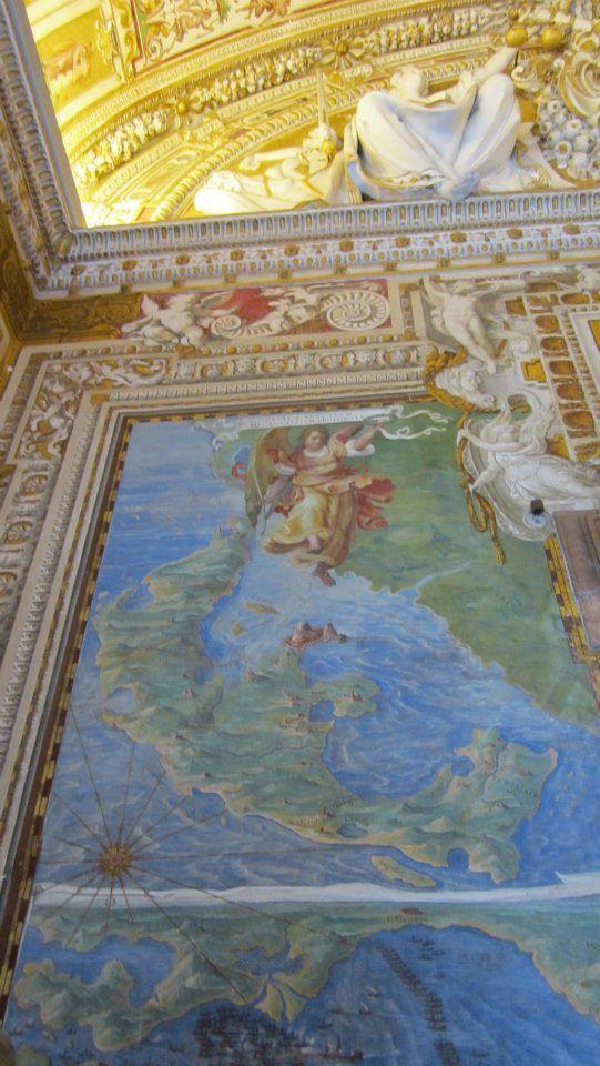 Galleria delle Carte Geografiche em Città del Vaticano