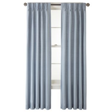 Royal Velvet Supreme Pinch Pleat Back Tab Thermal Curtain Panel