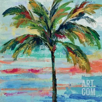 California Palm II Art Print by Silvia Vassileva at Art.com