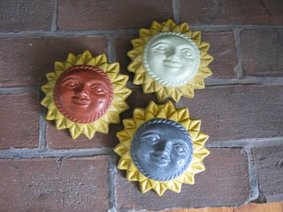 Cement Garden Faces   Concrete Sun Faces By WestWind Home U0026 Garden,