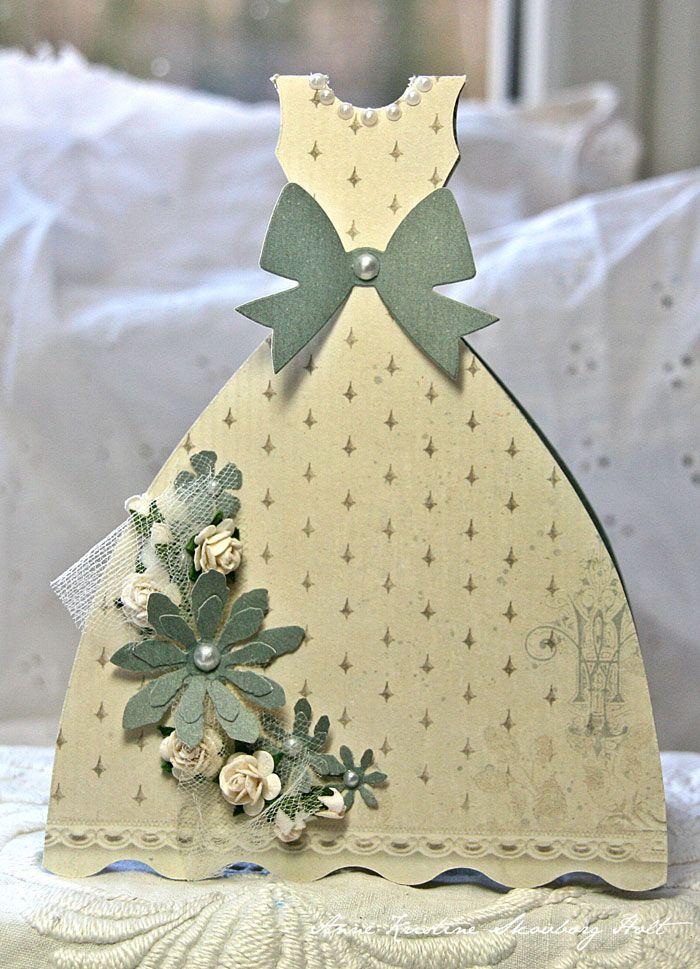 Crafting Ideas From Sizzix Uk Princess Dress Card Dress Card Fancy Fold Cards Cards Handmade