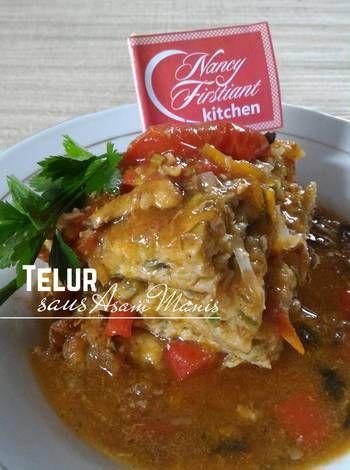 Resep Telur Saus Asam Manis Oleh Nancy Firstiant S Kitchen Resep Telur Resep Makanan Memasak